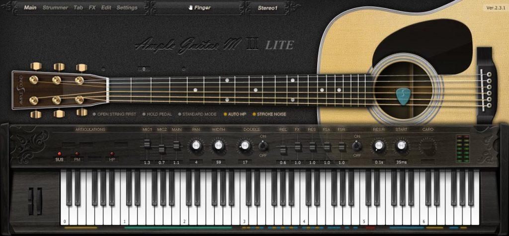 best free guitar vst plugins and sample libraries happy composer. Black Bedroom Furniture Sets. Home Design Ideas