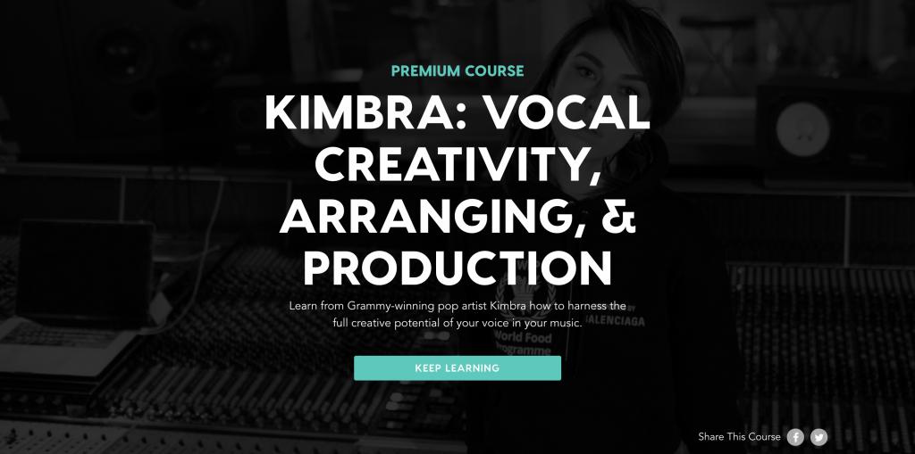 Kimbra: Vocal Creativity, Arranging & Producing